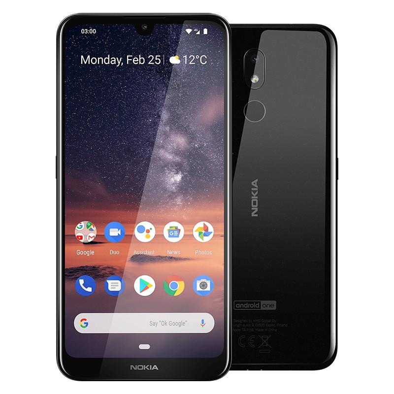 Nokia 3.2 (2Go/16Go) Noir - Prix Tunisie - MTS Plus