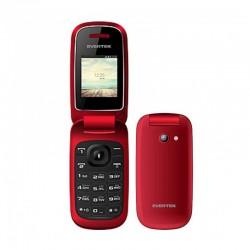 Téléphone Portable Evertek Clam Mini Rouge - MTS PLUS