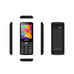 Téléphone Portable Evertek Turbo Noir - MTS Plus