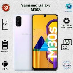 Samsung Galaxy M30S - Blanc - Prix Tunisie - MTS Plus
